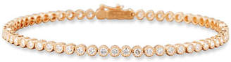 Memoire Diamond Line Bracelet in 18K Rose Gold