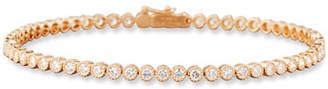 Memoire Diamond Line Bracelet in 18K Rose Gold