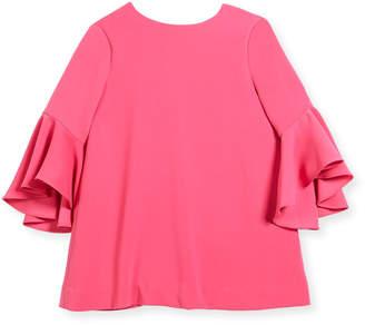 Milly Minis Italian Cady Nicola Dress, Size 4-7
