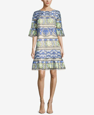 ECI Printed Shift Dress