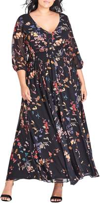 City Chic Sweet Sensation Maxi Dress