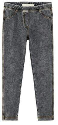 MANGO Elastic denim leggings