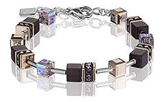 Coeur de Lion Women Stainless Steel Charm Bracelet - 4016/30-0824