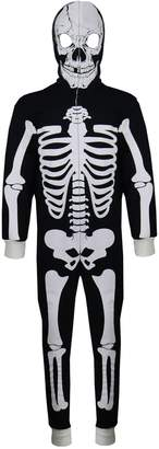 A2Z 4 Kids® Kids Boys Girls Skeleton Print A2Z Onesie One Piece Halloween Costume 5-13 Year