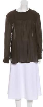 Etoile Isabel Marant Long Sleeve Pleat Top w/ Tags