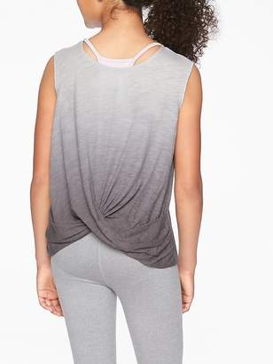 Athleta Girl Flip Around Twist Tank