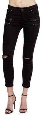 Cult of Individuality Skinny-Fit Zippered Jeans