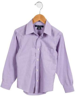 Brooks Brothers Boys' Woven Button-Up Shirt