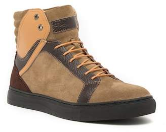 English Laundry Abbey Leather& Suede High-Top Suede & Leather Sneaker