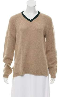 Marni V-Neck Cashmere Sweater