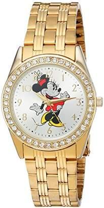 Disney Minnie Mouse Women's Alloy Glitz Watch