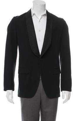 Dries Van Noten Striped Tuxedo Jacket black Striped Tuxedo Jacket