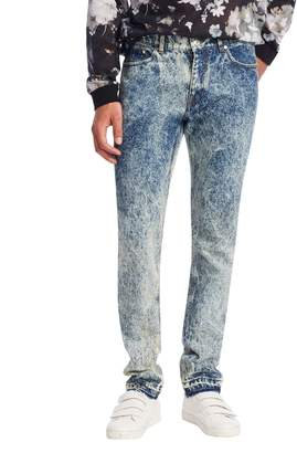 MSGM Men's Faded Cotton Trousers