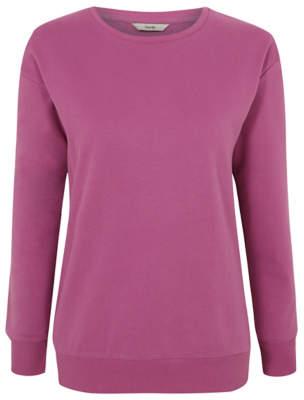 George Purple Crew Neck Sweatshirt