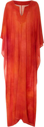 The Elder Statesman M'O Exclusive Favorite Dyed Caftan