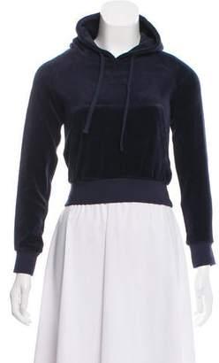 Juicy Couture Vetements x 2017 Velour Sweatshirt