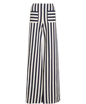 Hellessy Luc Striped Wide Leg Pants