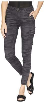 Mavi Jeans Juliette Skinny Cargo in Smoke Camo Women's Casual Pants