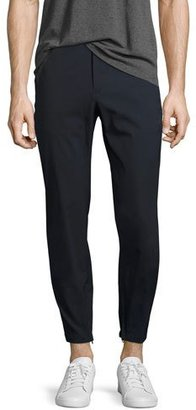 Theory Pier Neoteric Jogger Pants, Navy $245 thestylecure.com