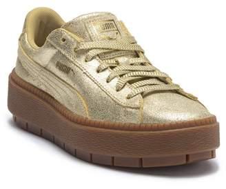 Puma Platform Trace Leather Sneaker