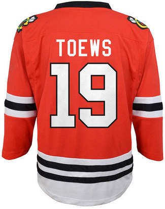 Authentic Nhl Apparel Johnathan Toews Chicago Blackhawks Player Replica Jersey, Toddler Boys