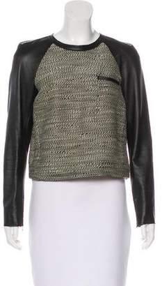3.1 Phillip Lim Long Sleeve Wool Top