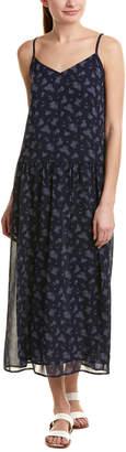 Vince Calico Floral Maxi Dress