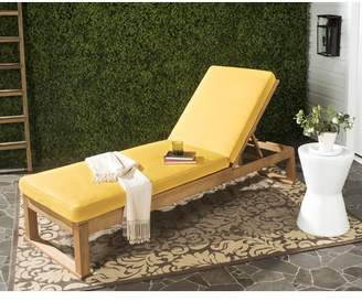 Brayden Studio Guion Chaise Lounge with Cushion