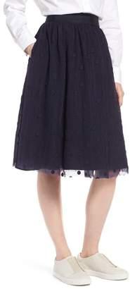1901 Embroidered Tulle Skirt (Regular & Petite)