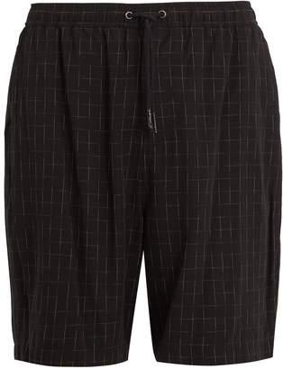 Saturdays NYC Miles Kasuri drawstring-waist shorts