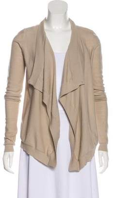 Givenchy Virgin Wool Open Front Cardigan