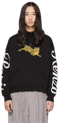 Kenzo Black Limited Edition Jumping Tiger Hoodie