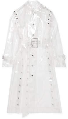 Thierry Mugler Vinyl Trench Coat - White