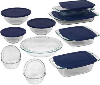 Pyrex 19-pc. Set Easy-Grab Bakeware Set
