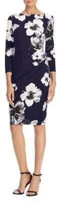 Lauren Ralph Lauren Petite Floral Print Jersey Dress