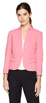 Nine West Women's Bi Stretch Kiss Front Jacket