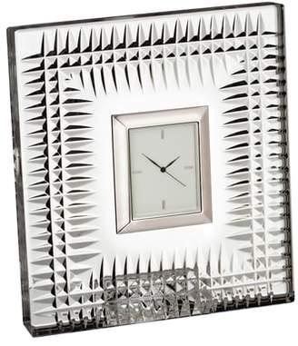 Waterford Lismore Diamond Crystal Clock