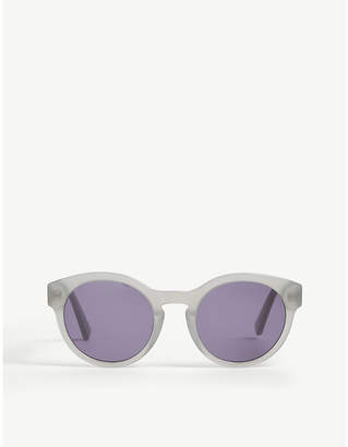 The White Company Round-frame acetate sunglasses