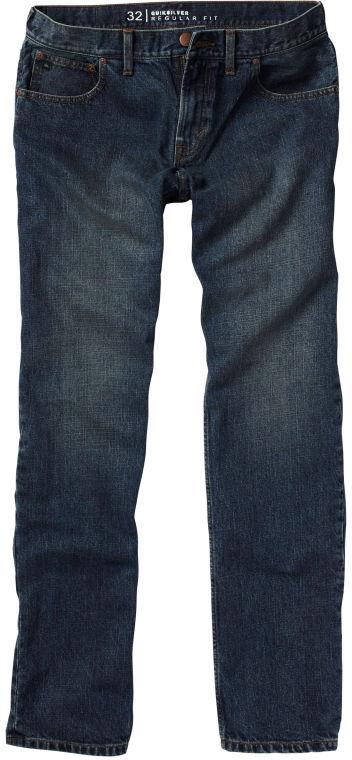 "Quiksilver Double Down Jeans, 32"" Inseam"