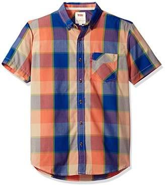 Levi's Men's Rexam Short Sleeve Woven Shirt