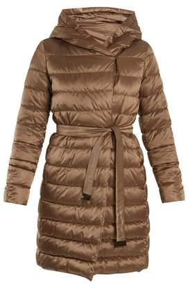 Max Mara S Novef Reversible Coat - Womens - Light Brown