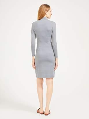 Bedford Dress in Daub Geo
