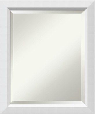 Amanti Art Blanco White Medium Wall Mirror