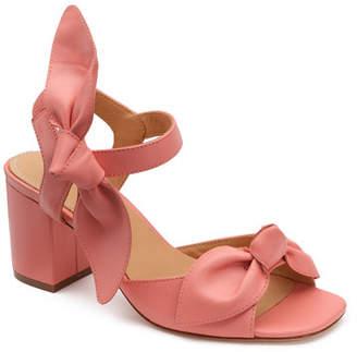 Bill Blass Carmen 65mm Leather Bow Sandals