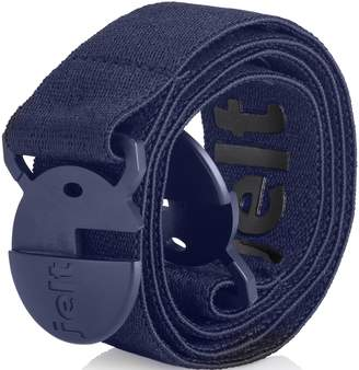 Strong & Invisible Elastic Stretch Belt by Jelt - Fits Women and Men Perfectly - Great With Any Pants! - Eco-Friendly (Denim ,)