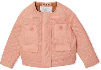 Burberry TEEN diamond quilted jacket