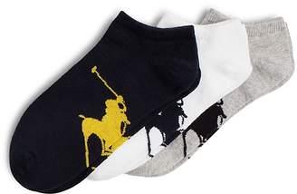 Polo Ralph Lauren Big Polo Player Socks, Pack of 3