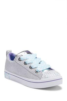 Skechers TWI-Twinkle Lights Glitter Sneaker (Little Kid & Big Kid)