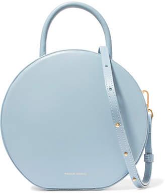 Mansur Gavriel Circle Leather Shoulder Bag - Light blue