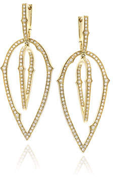 Stephen Webster Thorn Detachable-Drop Diamond Earrings